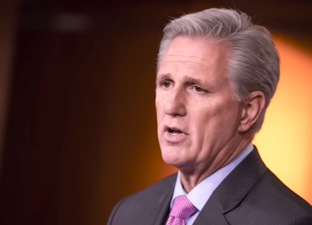 McCarthy Leads GOP In Honoring Police After Dems' Defunding Rhetoric