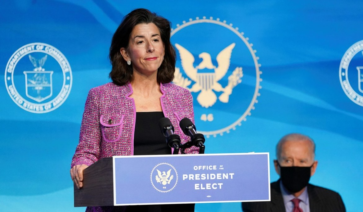 Gina Raimondo: Poor Jobs Report Not Due to Extended Unemployment Benefits
