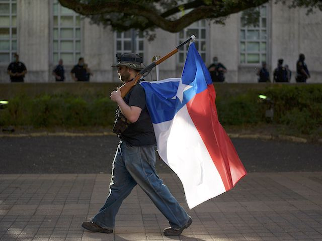 Makes Texas 21st Constitutional Carry State
