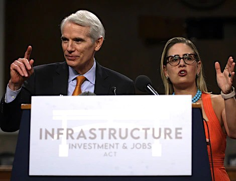 Senate Saturday Action Stalls as Infrastructure Bill Unfinished