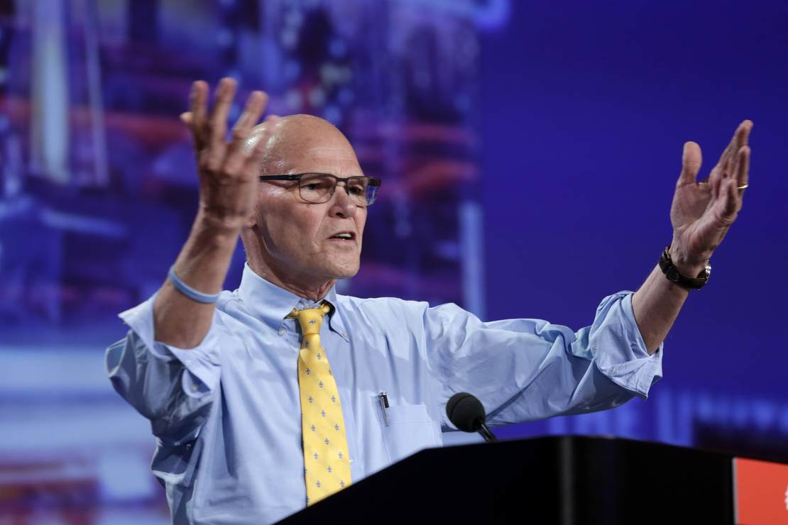Carville Issues Warning to 'Naive, Noisy' Democrats Who Continue to Back Far-Left Agenda – RedState