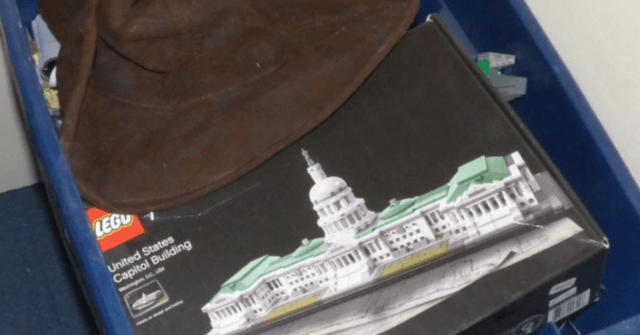 DOJ Retracts Claim of 'Fully Constructed' Capitol LEGO Set; LEGO of Riot Suspect 'in a Box'