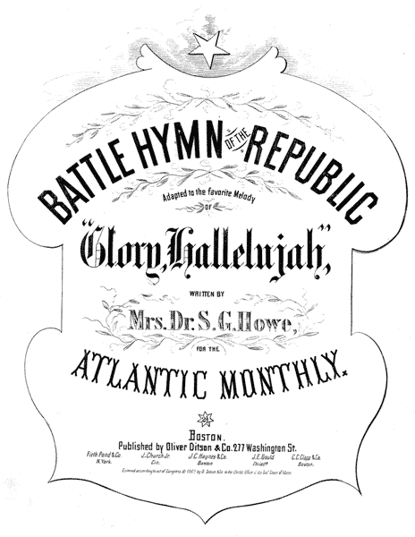 A Short History Of 'Battle Hymn Of The Republic'