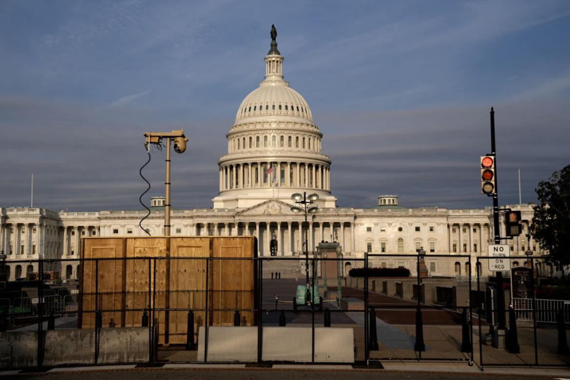 'That's A Setup': Capitol Fence Comes Back Up; Trump Weighs In On Rally