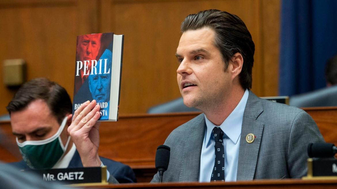 Matt Gaetz Grills General Milley Over Afghanistan Disaster: 'You Really Blew That Call, Didn't You?'