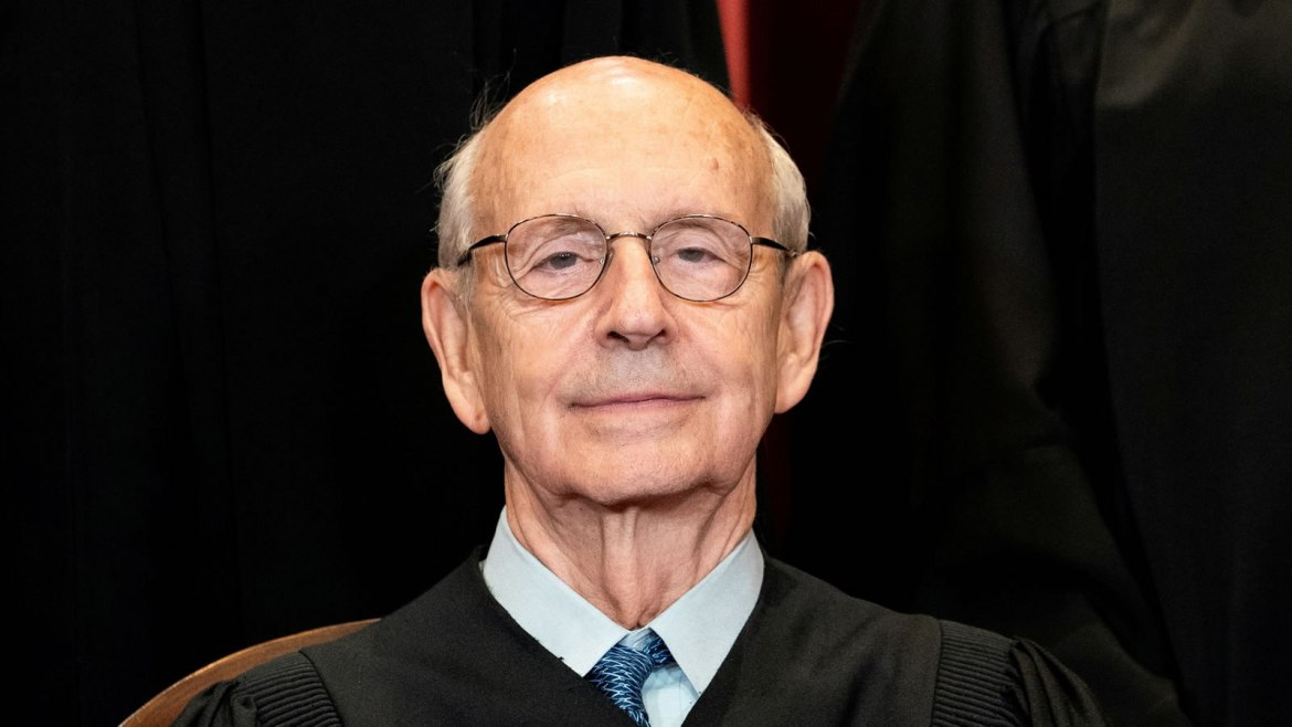 Justice Breyer Brushes Off Retirement Demands, But Says He Doesn't 'Intend to Die on the Court'