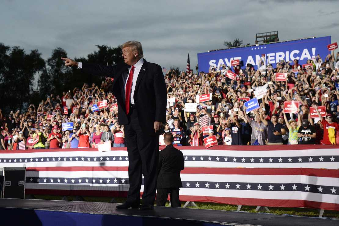 Trump Makes It Clear He's Running, Lights up Georgia Rally on Biden, Durham and the Audit – RedState