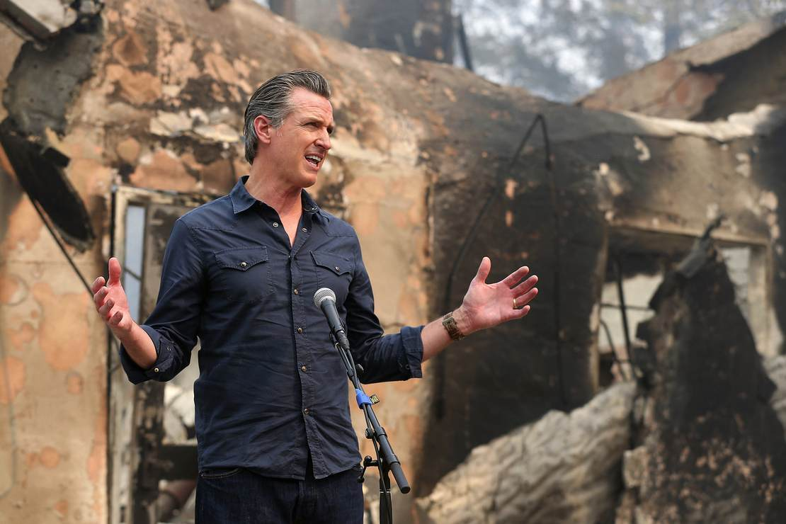 Because Newsom Will Watch California Burn to Prove Climate Change – RedState