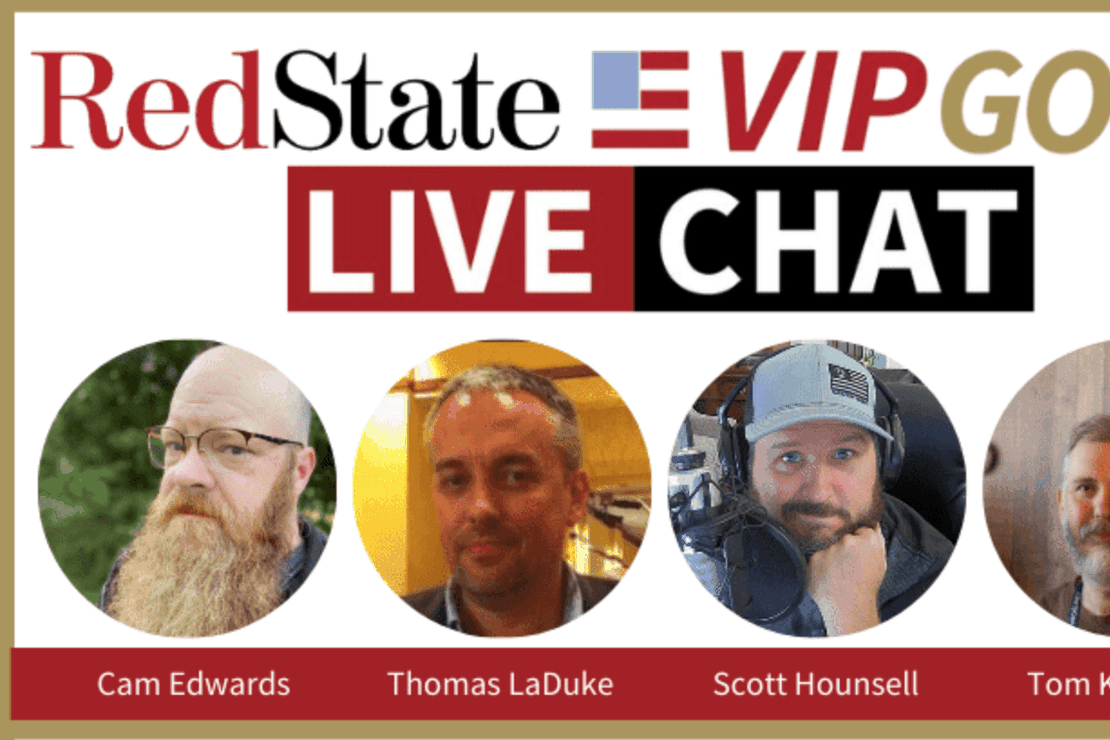 VIP Gold Live Chat- RedState & Bearing Arms 8 PM ET