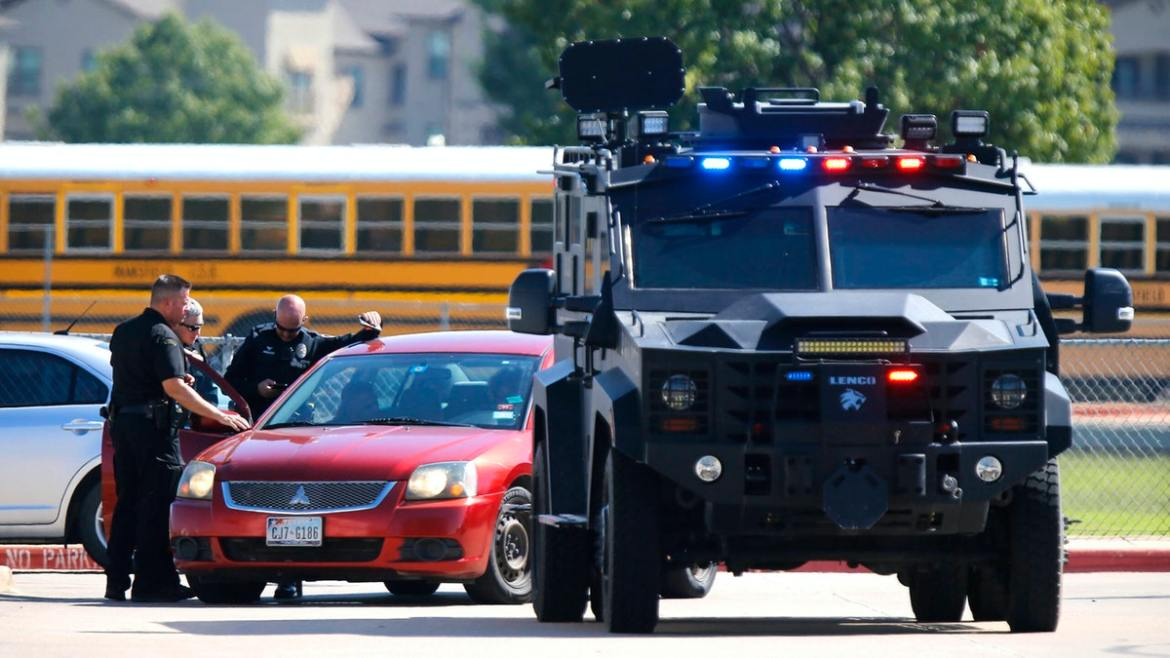 Alleged School Shooter In Texas Released From Jail On Bond Day After Shooting Multiple People