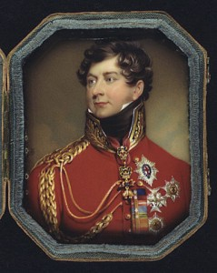 Prince Regent (later George IV of England)