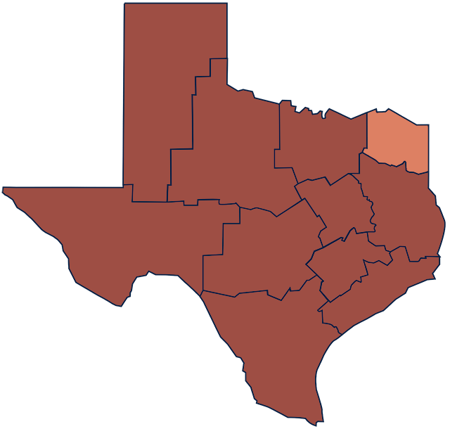 Northeast Texas region