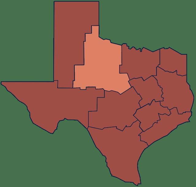 Texas Rolling Plains region