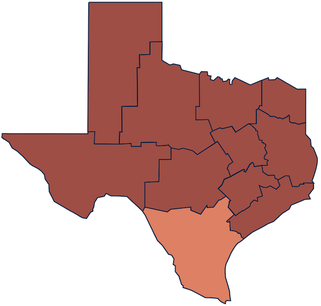 South Texas region