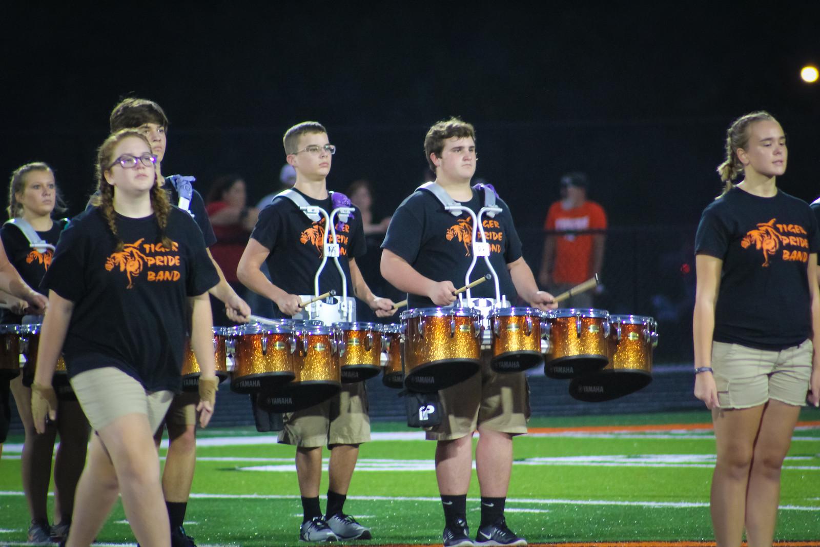 Off The Field: Tiger Pride Band – Halftime Vs Branson