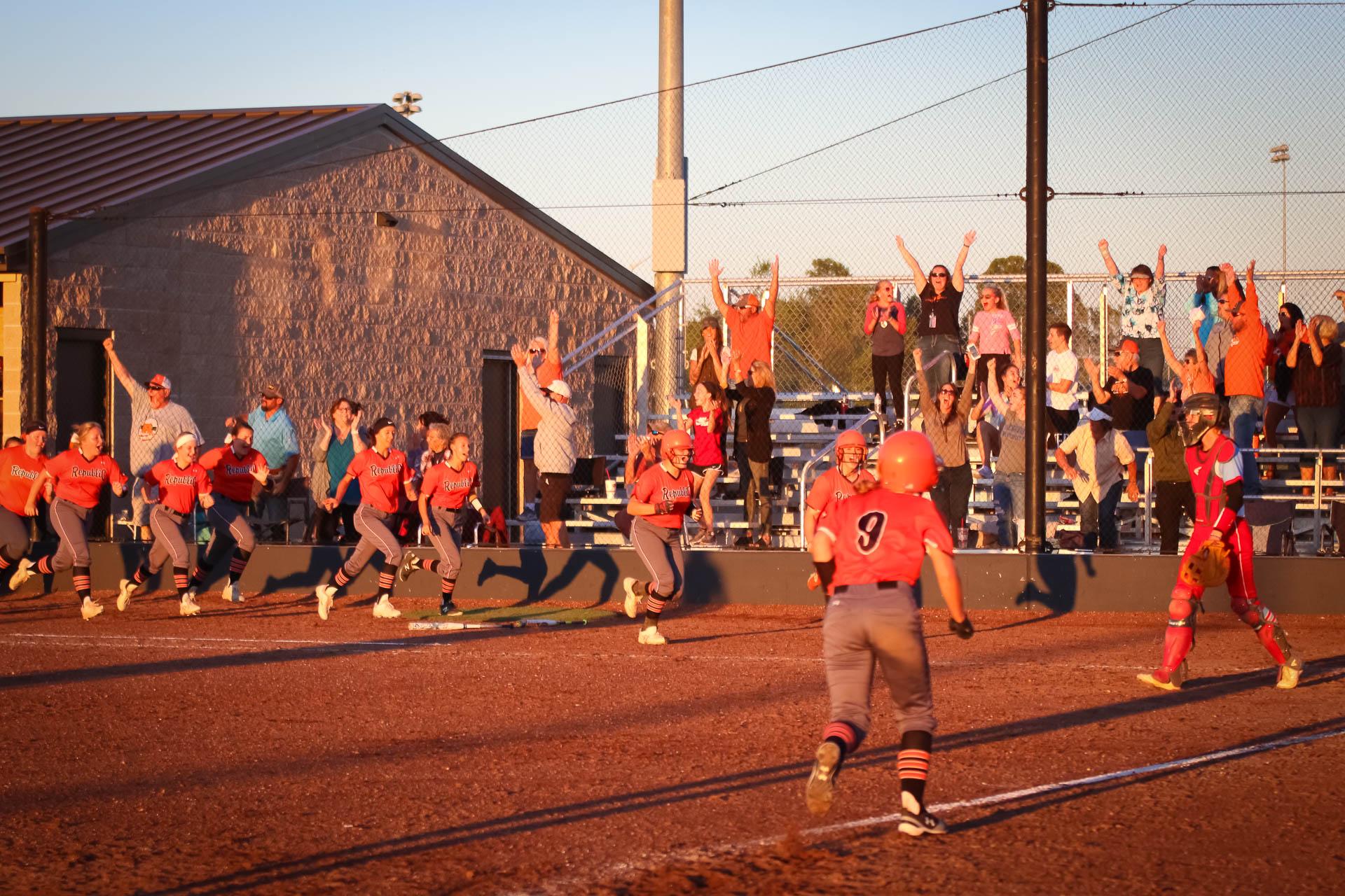 Photos:  Varsity Softball Vs Webb City