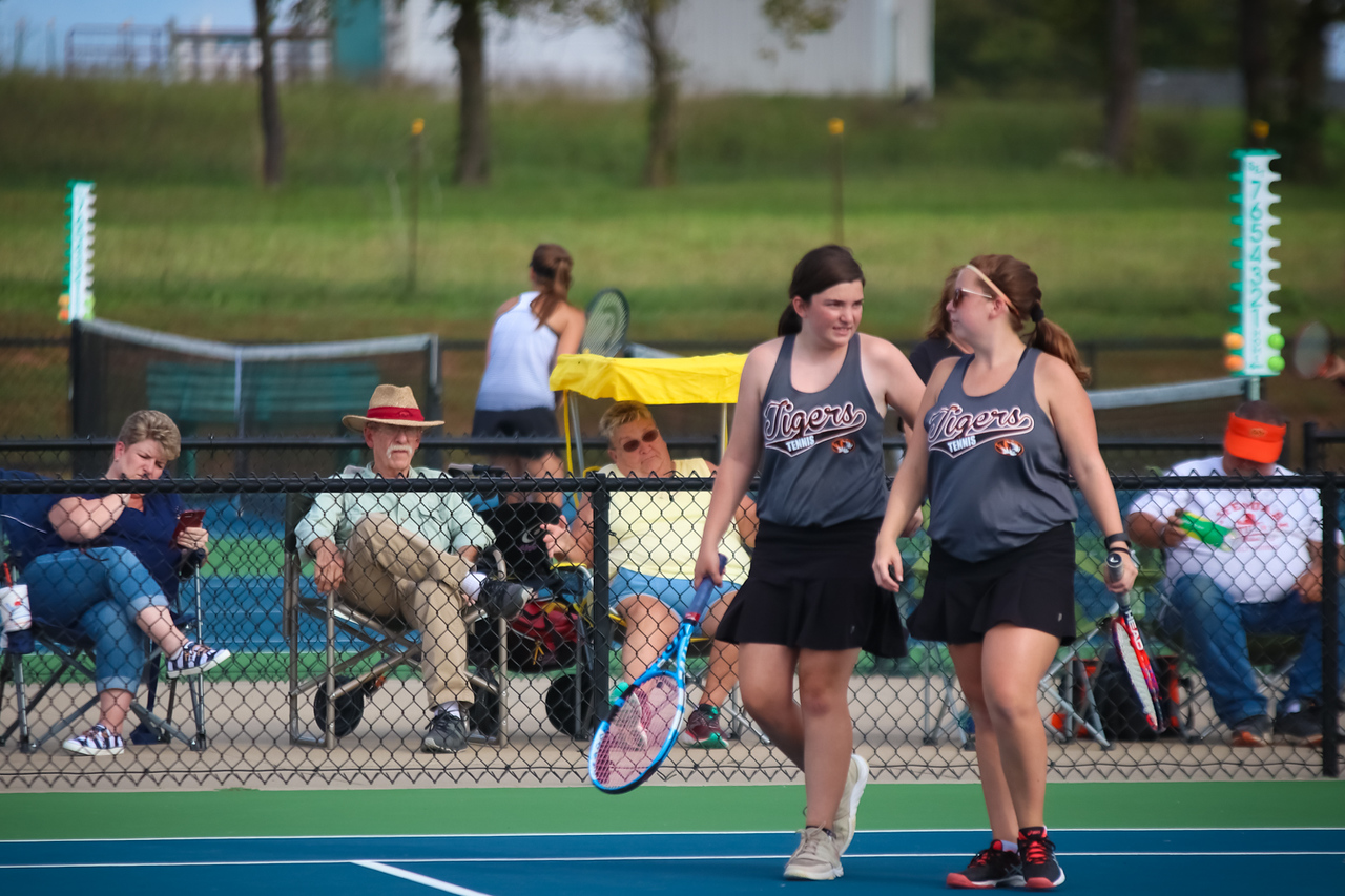 Photos:  Varsity Tennis Vs Willard (Districts)