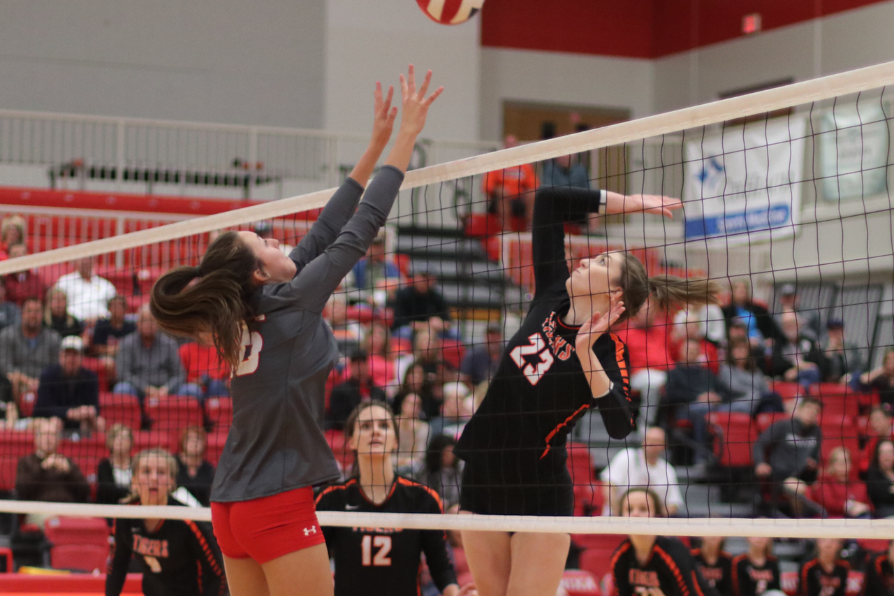Photos:  Varsity Volleyball Vs Nixa