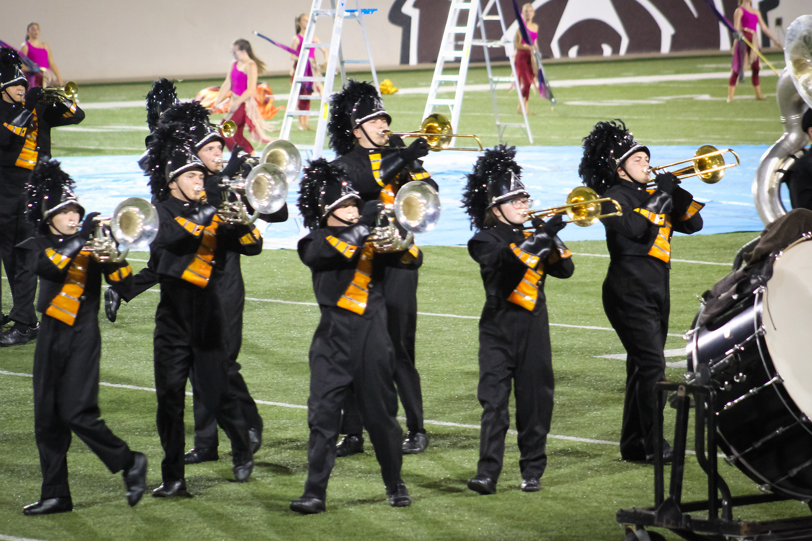 Photos:  MSU Band Competition