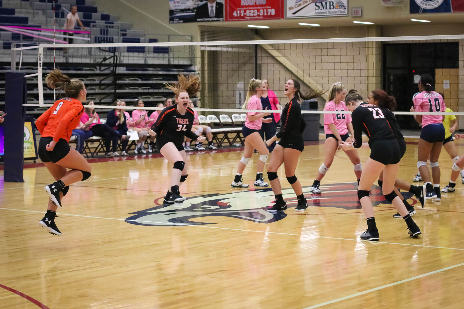Photos:  Varsity Volleyball Vs Joplin