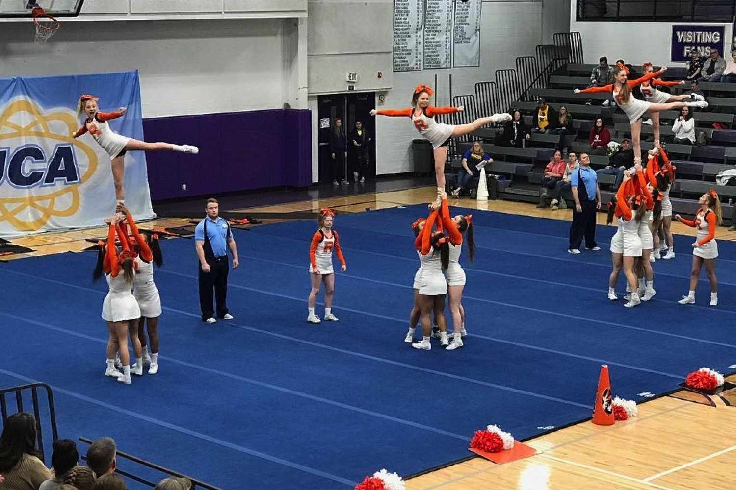 Regional Performance Fuels Cheerleaders' Prep For Nationals