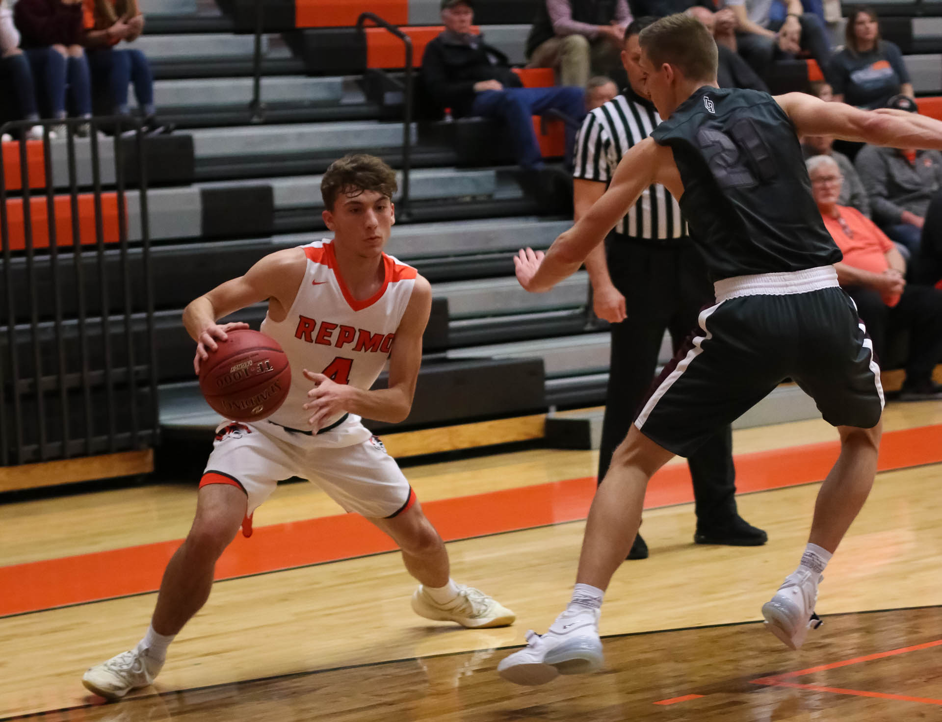 Photos:  Varsity Boys Basketball Vs Rogersville