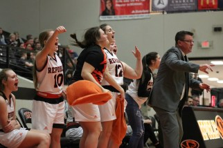 Lady Tigers Celebration