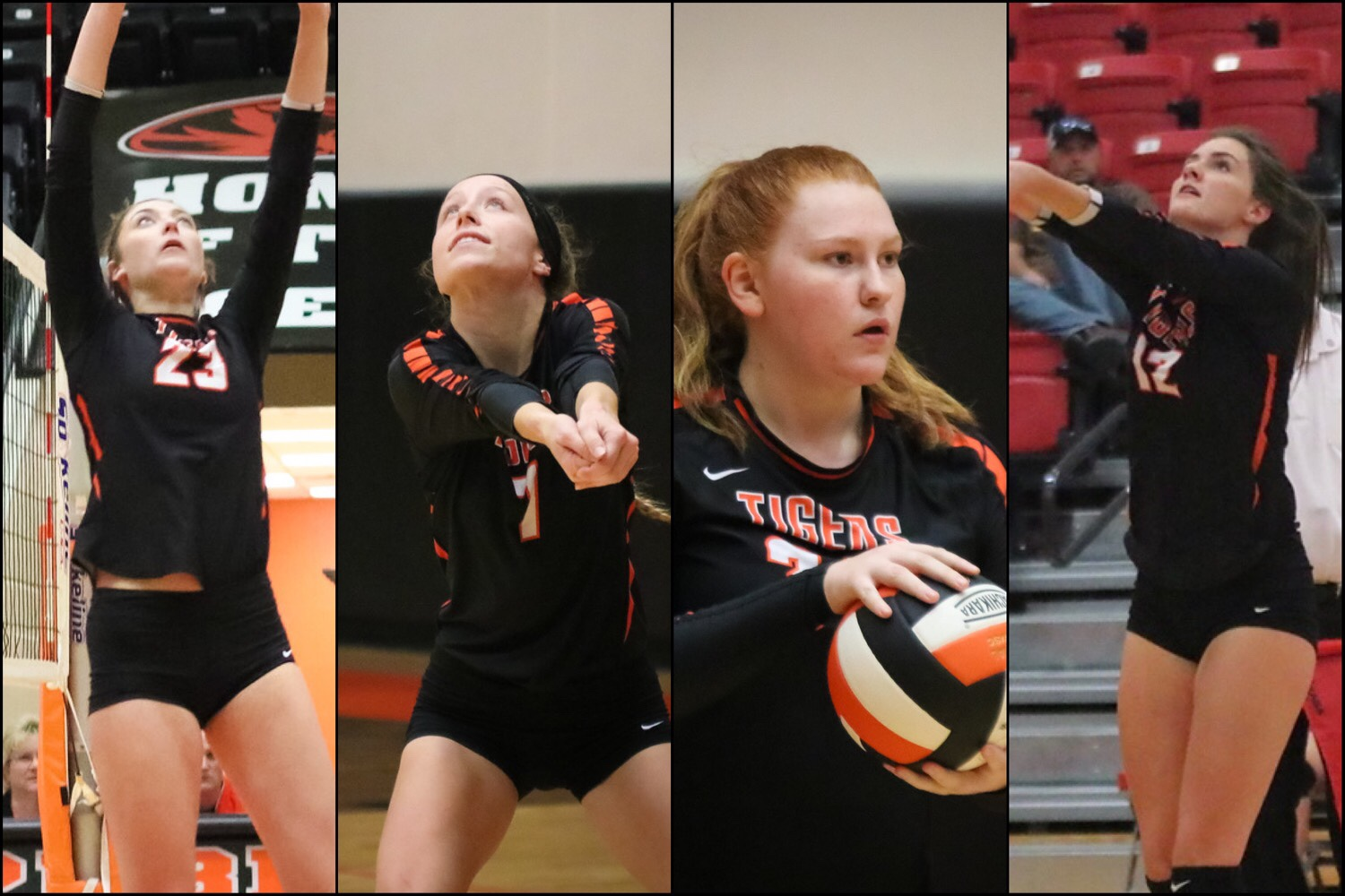Four Repmo Volleyballers Earn Academic All-State Honors