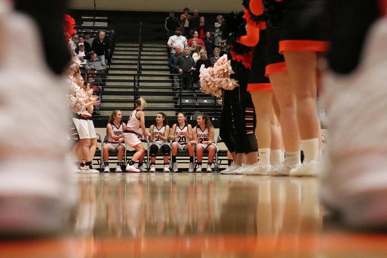Photos:  Varsity Girls Basketball Vs Neosho