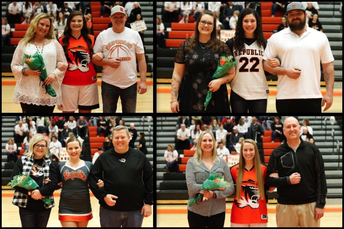 Senior Tributes: Girls Basketball & Tigerettes