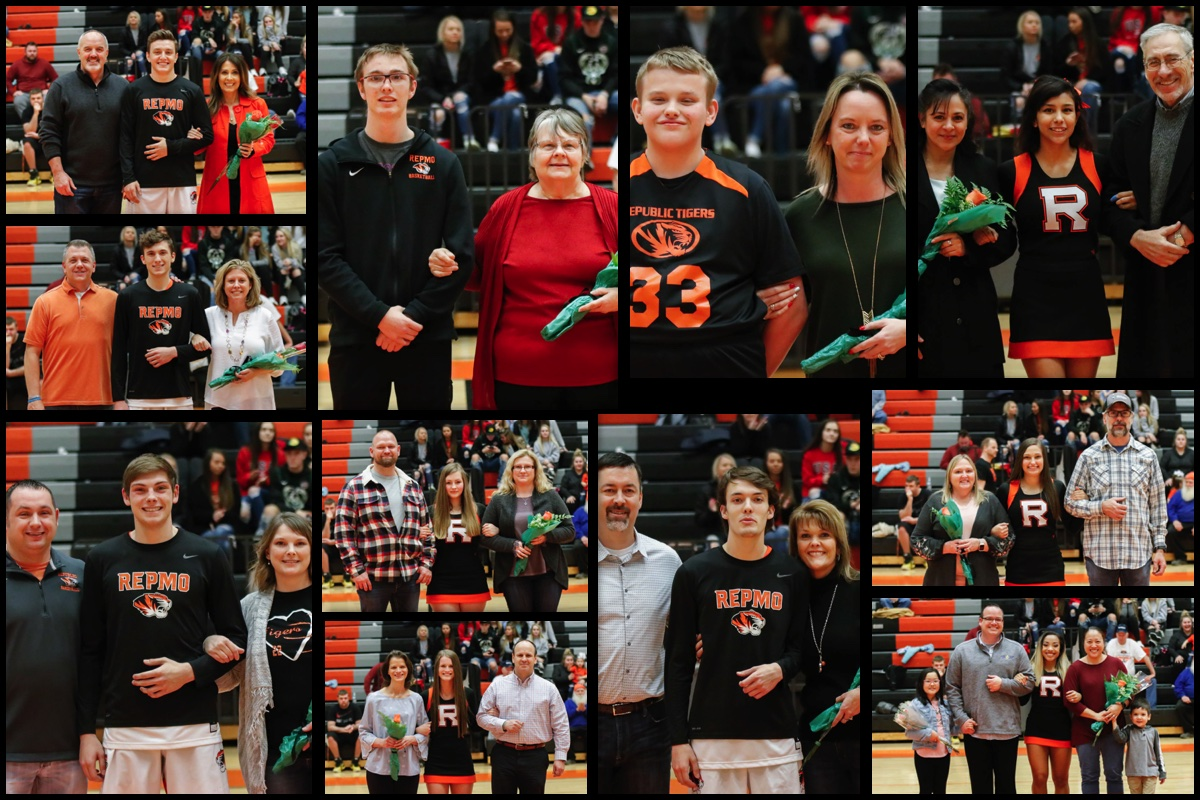 Senior Tributes: Boys Basketball, Cheer & Special Olympics