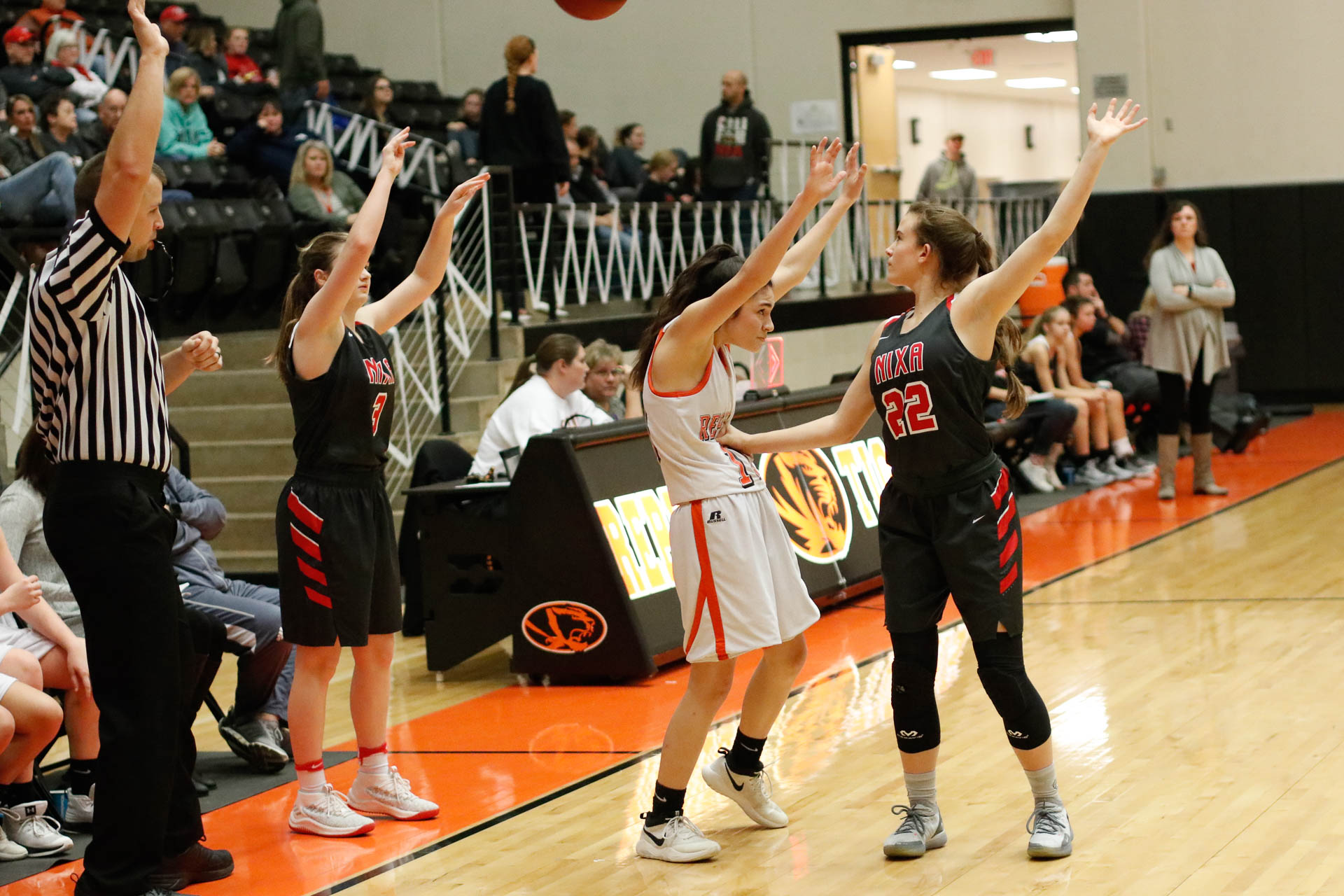 Photos:  Freshman Girls Basketball Vs Nixa