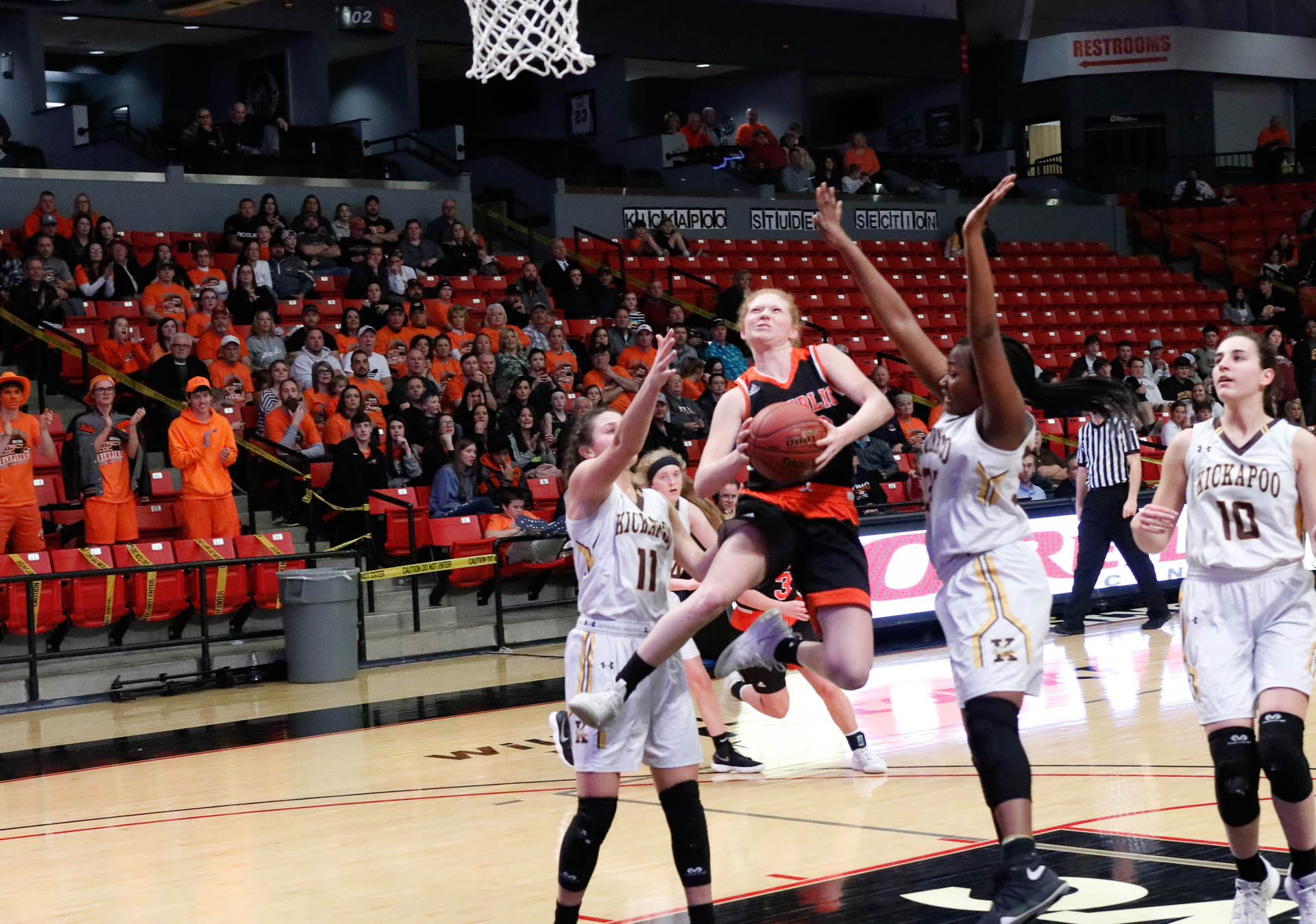 Lady Tigers Turn The Tables On Kickapoo In Sectional Win