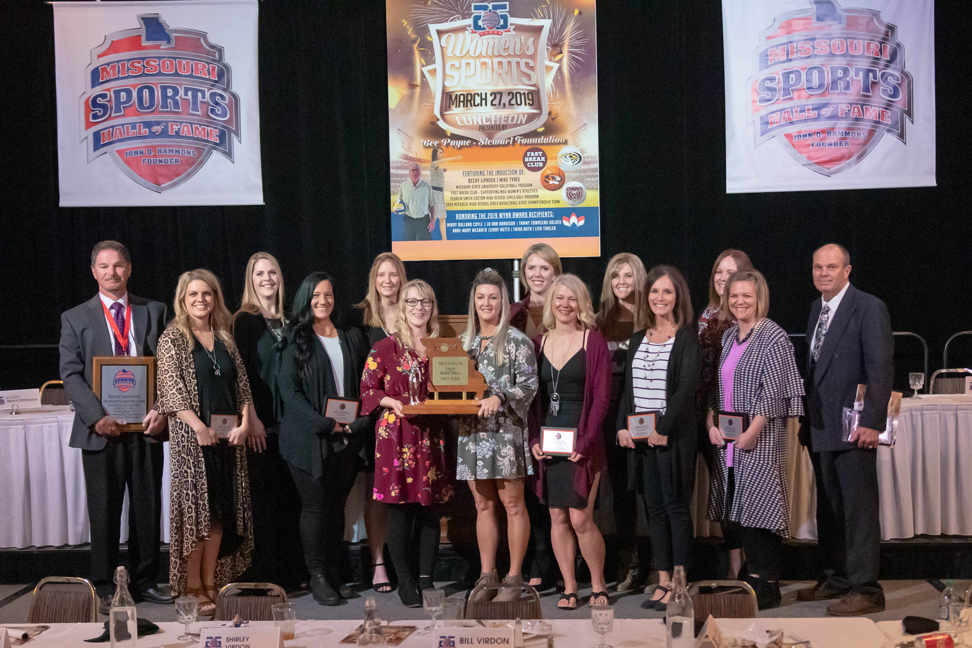 '94 Lady Tigers Honored By Hall