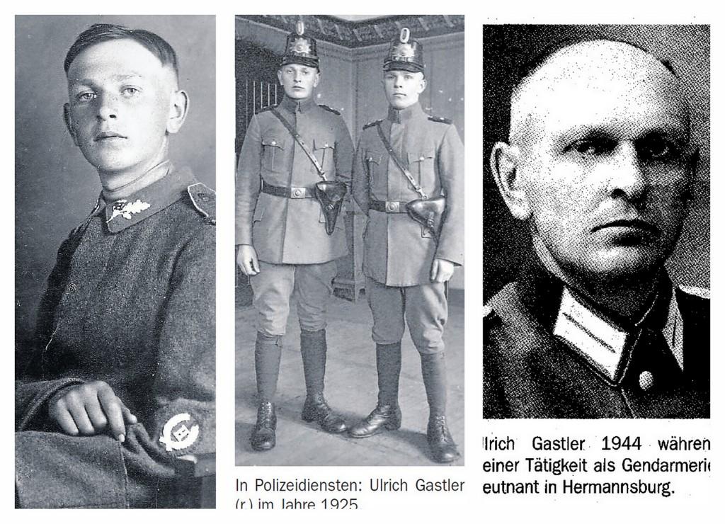 Geschichte des Polizeibeamten Ulrich Gastler von 1919/1923 bis 1946