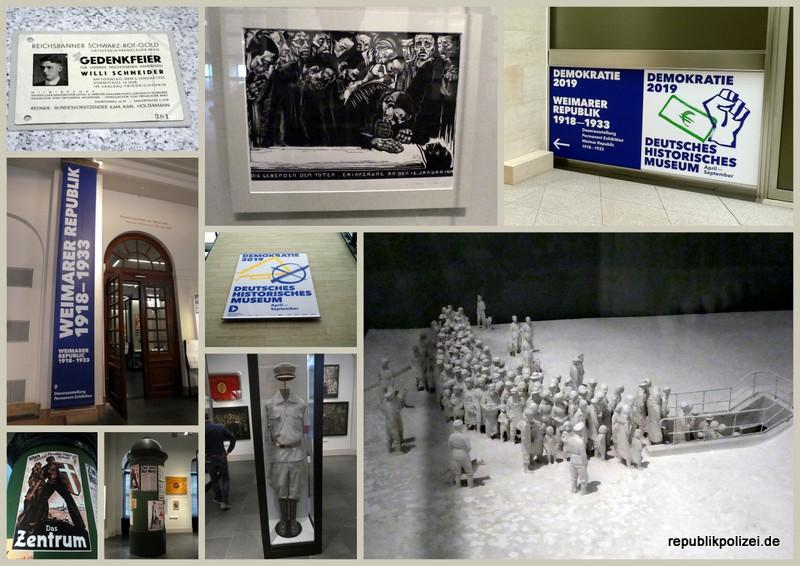 Deutsches Historisches Museum Berlin: Weimarer Republik im Mai 2019