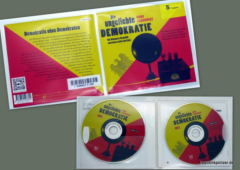 """Hörbuchtipp: Hans Sarkowicz: """"Die ungeliebte Demokratie"""""""