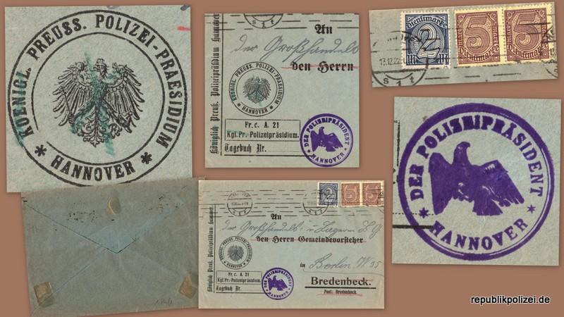 Zeitdokument: Briefumschlag aus zwei Zeiten