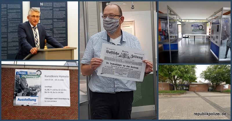 Tagesbericht 04.09.2020: #fhstraßenkämpferhm – Presseankündigung und Führungen