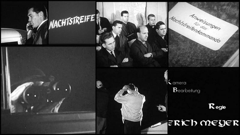 Original Polizeifilm aus den 60 Jahren aus Braunschweig – Nachtstreife