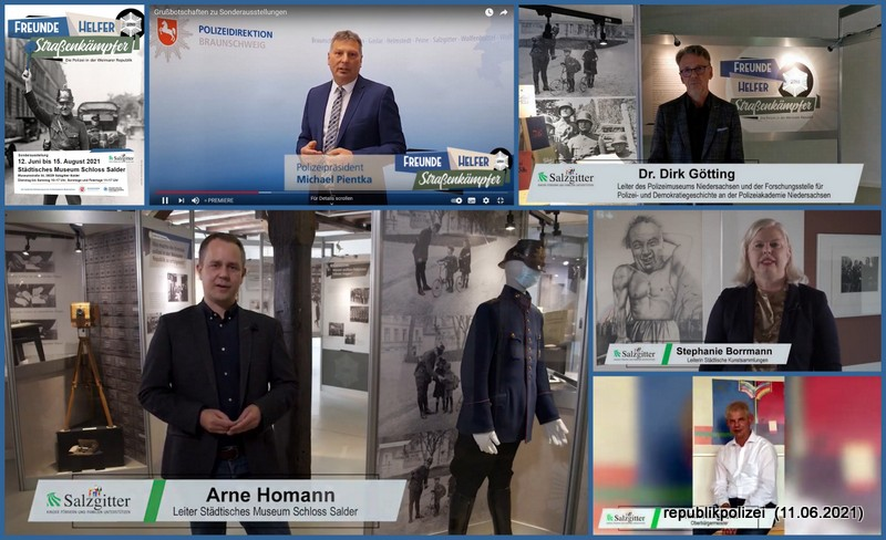 Das Video der Ausstellungseröffnung Schloß Salder #fhstraßenkämpfersz