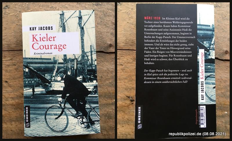 """Kleine Buchvorstellung: """"Kieler Courage"""" von Kay Jacobs"""