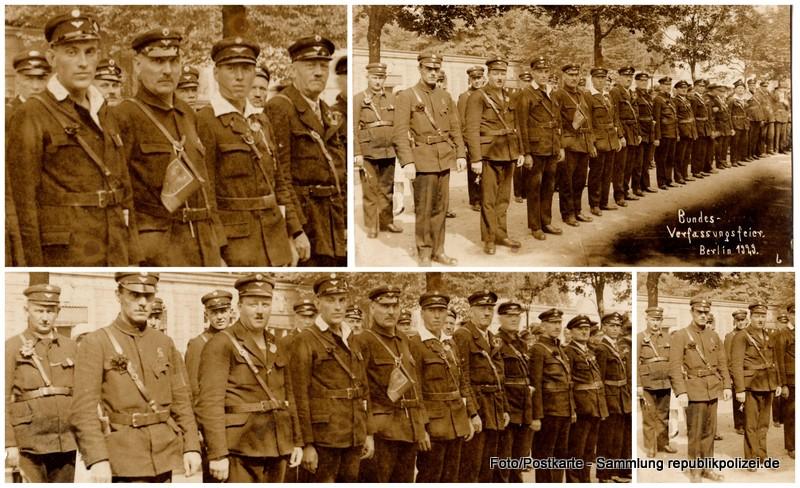 Zeitdokument: Foto Verfassungsfeier 1929