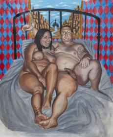 Oil on canvas 160 x 200 cm