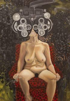 Oil on canvas 180 x 120 cm