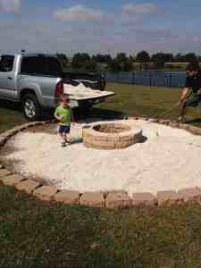 DIY Fire Pit Makeover
