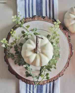 FALL TABLESCAPE WITH FALL TOUCHES