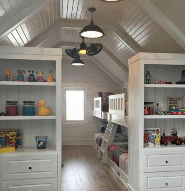 Converting attic space