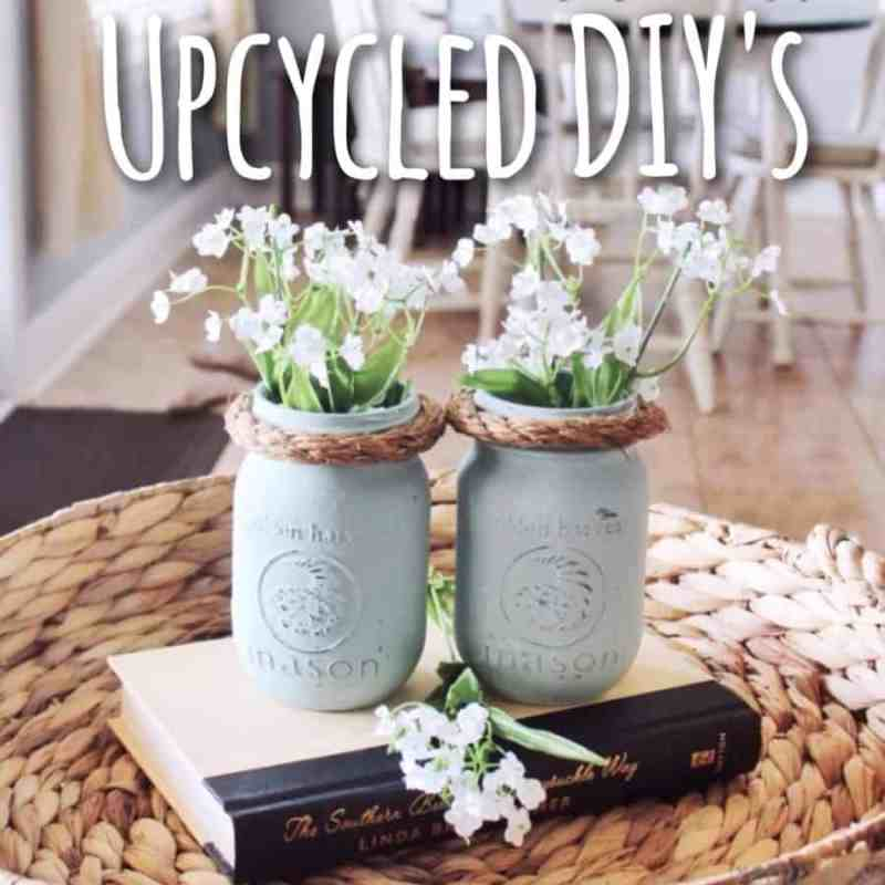 Upcycled DIY's for a budget friendly decorating