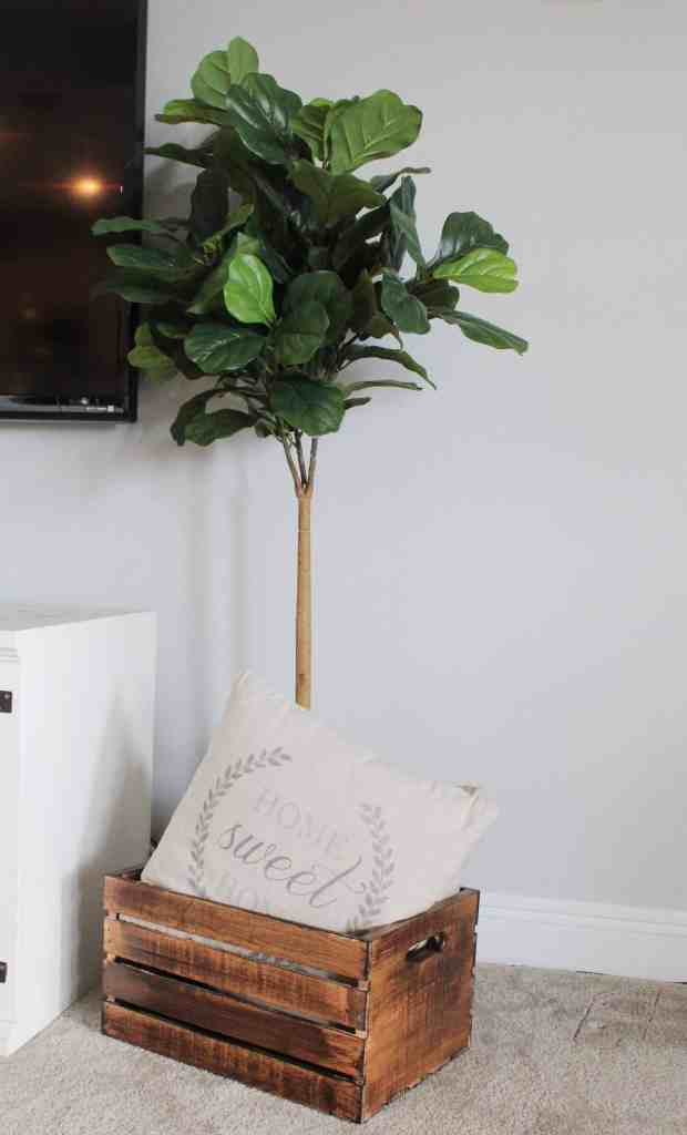 useful ways to repurpose a wooden crate
